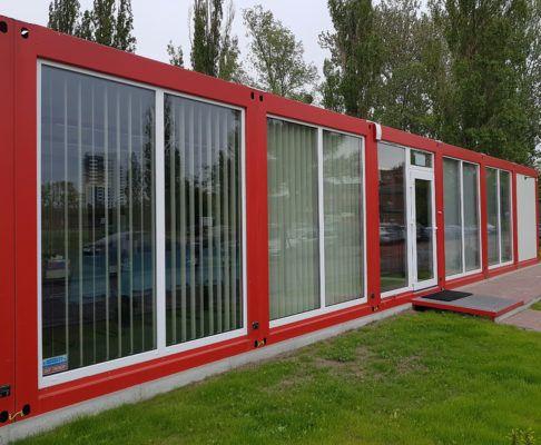 LOGICON Kontenery - Salony sprzedaży, produkcja kontenerów